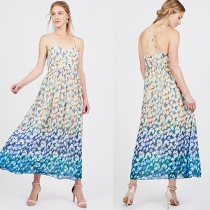 Badgley Mischka for Le Tote Maxi Dress